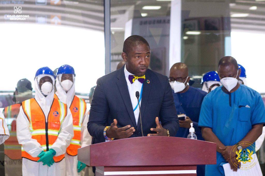Dr Bernard Okoe-Boye, Deputy Minister for Health
